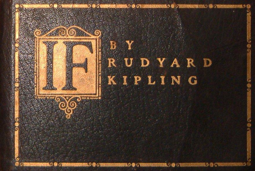 """""""If"""" by Rudyard Kipling"""