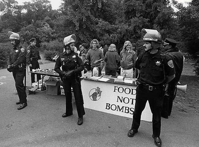 Food Not Bombs Co-Founder, Keith McHenry