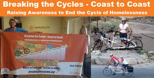 Breaking Cycles: Ride Across America to End the Cycle of Poverty & Homelessness