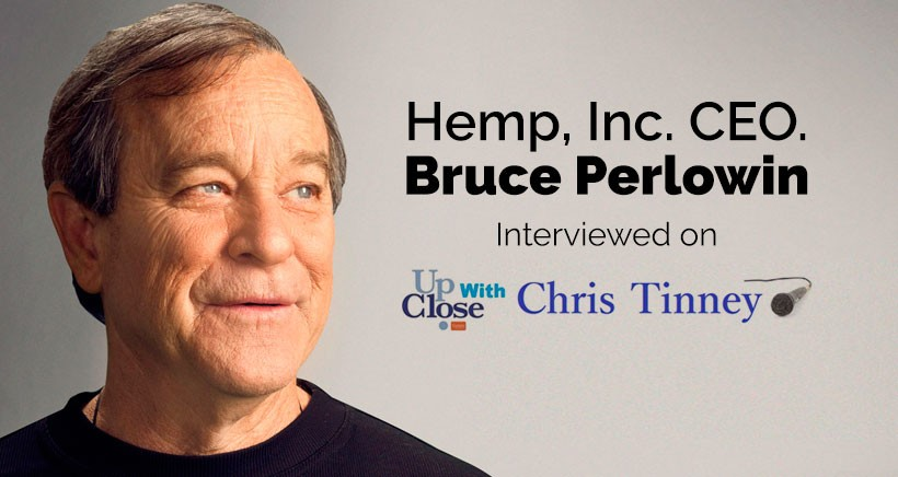 Bruce Perlowin, CEO of Hemp Inc.